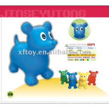 Kids soft jumping animal dog