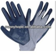 Nitril Schaum Palm Coated Handschuhe