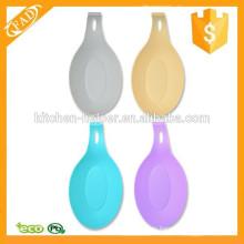 Eco-Friendly precio de fábrica de silicona Spoon Rest Set