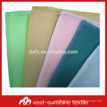 80%polyester 20%polyamide microfiber suede cloth for lens, glasses cleaning