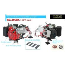 El generador de gasolina marino de 56 VDC carga el automóvil
