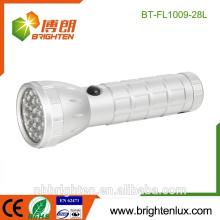 Heißer Verkäufer nach Maß 28 geführtes Fackel-Notfall-gute Qualitätskühle helle Aluminiumtaschenlampe