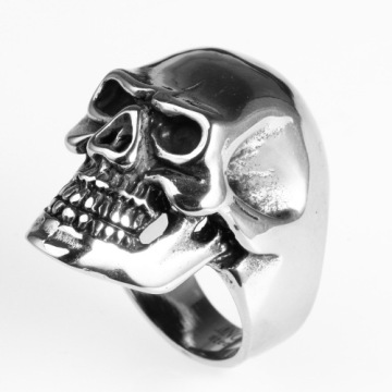 Harley Knight Motocross personality fashion punk skull ring