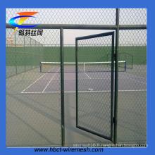 La Chine fabriquent la clôture de sécurité de barrière de lien de chaîne de 6ft (CT-54)