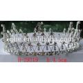 plastic tiara comb snowflake tiara for christmas pageant holiday crown rich quality fashion tiaras for women