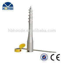 High Tech Meilleur Price Wholesale Stainless Steel Ground Anchor