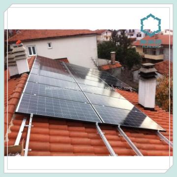 Profilés en aluminium pour panneau solaire Rail