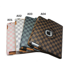 In stock 360 degree Rotating Cover Stand Magnetic Retro Style Smart Case for iPad 2 3 4