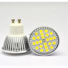 5050 LED 24PCS 4W Mr16AC85-265V Proyector LED