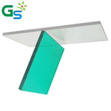 PE Film Transparent Plastic Mirror 10mm Sheet Polycarbonate Solid Sheet For Skylight