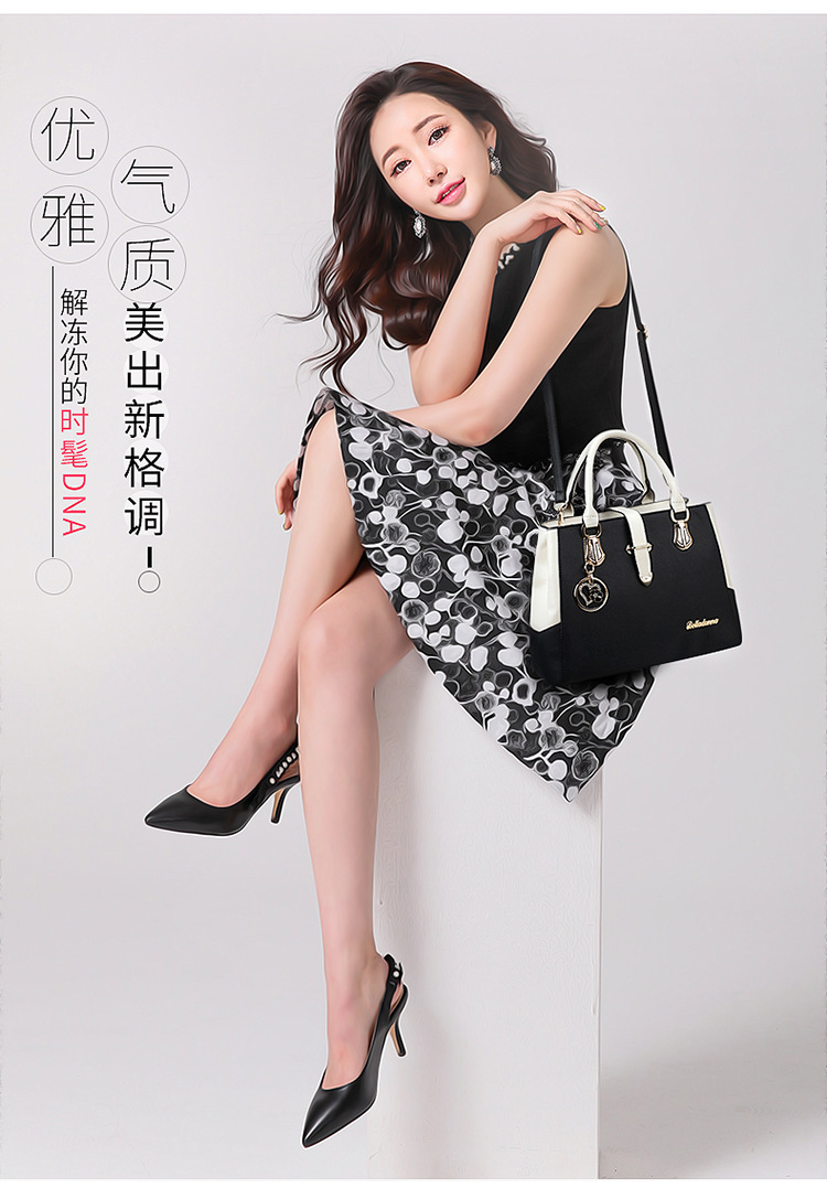 top quality fashion leather handbag