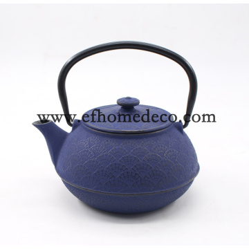 Cast Iron Enamel Teapot Set Water Cerett