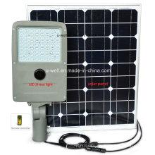 Boa qualidade ao ar livre 30W 40W 50W Solar LED luz de rua