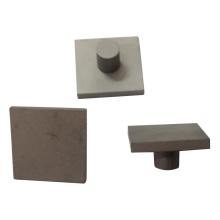 Use peças de reposição abrasivas de carboneto de tungstênio