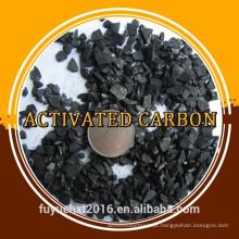 Carvão activado de baixo custo com base de coco para filtro de ar