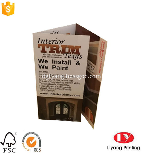 Folded Brochure Printing 5