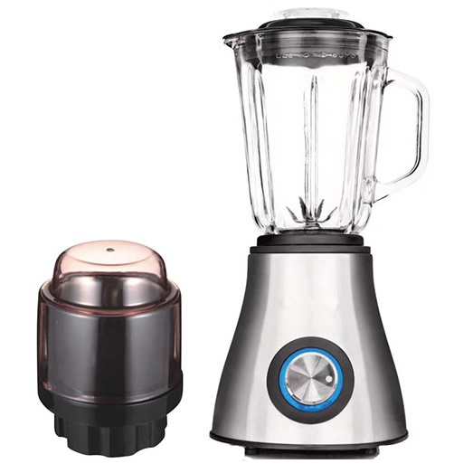 stainless steel food blenders with glass jar