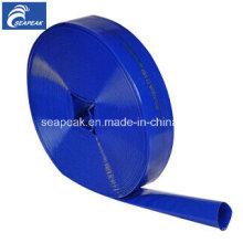 Manguera de la salida del agua de Layflat del PVC China