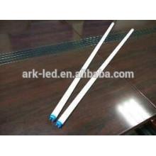 Série ARK A (Euro) homologuée VDE CE RoHs, 0,6 m / 8w, tube led simple extrémité blanc chaud avec démarreur LED, garantie 3 ans