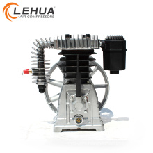 5.5kw 7.5hp belt driven piston aluminium air pump with air filter