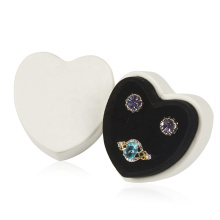 Wholesale Custom Heart Shaped Jewelry Ring Earring Boxes For Jewelry Packaging