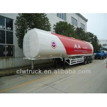 2014 заводская поставка трех-осный топливный бак цена, 60cbm нефтяной танкер полуприцеп