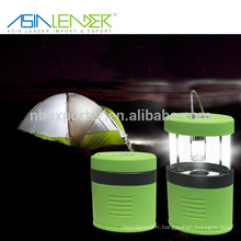 BT-4891 100% éclairage-50% éclairage-clignotant 4 * AAA batterie alimentation électrique rabattable camping lanterne