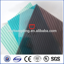 twinwall hollow polycarbonate sheet