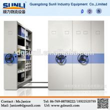 Dongguan Rack Supplier Venta caliente Steel Mobile Library Bookshelf