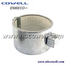 Chauffage en céramique à bande électrique pour extrudeuse en plastique