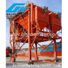 Port Mobile Type Hopper para Carregamento de Carvão Carga em Massa com Coletor de Poeira