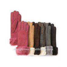 Модные мужские перчатки из овчины
