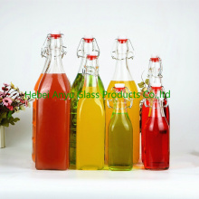 Кухня 250 мл / 500 мл / 1000 мл Соевый соус / Уксус Стеклянная бутылка / бутылка сока