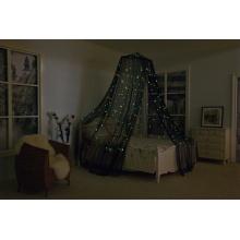 Im Dunkeln leuchten Kinderbett Baldachin