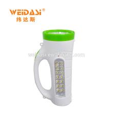 Hand-held LED Lâmpada de Busca, WD-512 Adventure Caça luz de emergência do carro luz