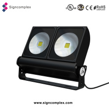 Bridgelux Chip COB 180W prenda impermeable IP65 LED luces al aire libre de aluminio