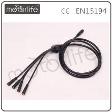 Câbles électriques de preuve d'eau de bicyclette