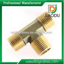 1/8 '' ou 1/4 '' ou 3/4 '' ou 1 '' ou 2 '' personalizado boa qualidade cw617n latão conector elétrico tee acessórios para tubos