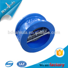 Ductile iron wafer butterfly check valve