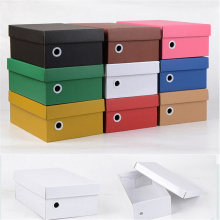 Good Quality for Carton Box Custom Foldable Corrugated Cardboard Shoe Box Packaging supply to Reunion Manufacturers