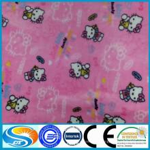 Tecido de flanela 100% algodão bebê