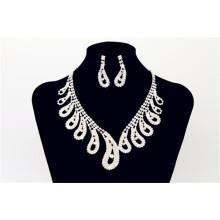 Свадебные Шику Ожерелье Из Бисера С Серьги