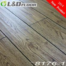 Suelo laminado de madera HDF Suelo laminado modificado para requisitos particulares del suelo