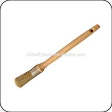 деревянная ручка кисть круглая краска