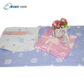 Bebê Musselina Swaddle Multilayer Blanket Gift Set