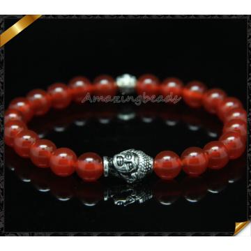 Pérola de pedra quente esticar pulseira (CB0107)