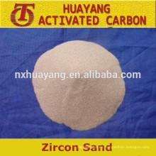 66% -67% de arena de circón de alta pureza competitiva
