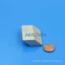 Ndfeb personnalisé Rhombus néodyme aimant de forme spéciale