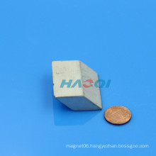 customized ndfeb Rhombus neodymium special shape magnet