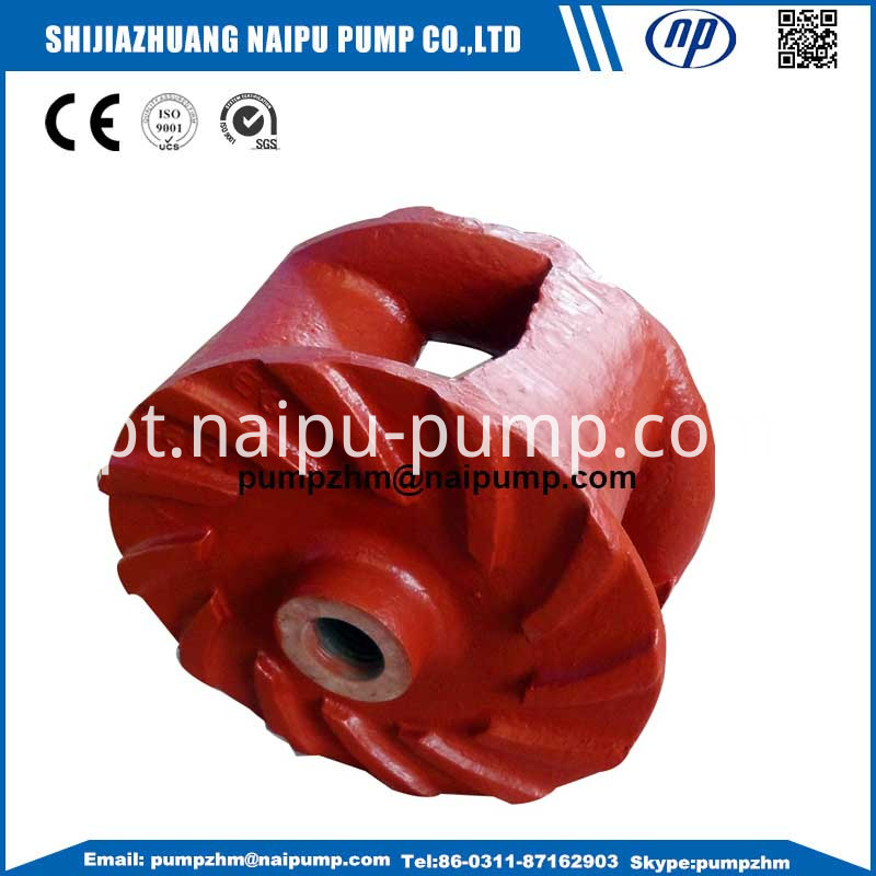 03 horizontal slurry pump impellers